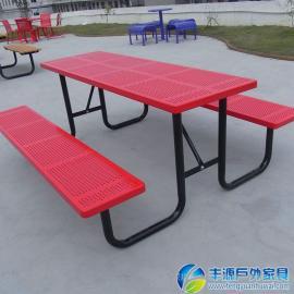 东莞市铁艺户外休闲桌椅图片