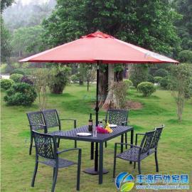 广州市花园休闲桌椅图片