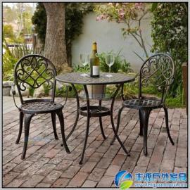 东莞市欧式铸铝户外桌椅图片