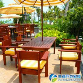 珠海市户外实木休闲桌椅批发