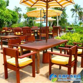 惠州市实木休闲桌椅图片