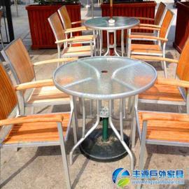 广州市休闲桌椅户外图片