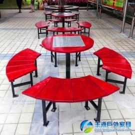 珠海市阳台实木休闲桌椅价格