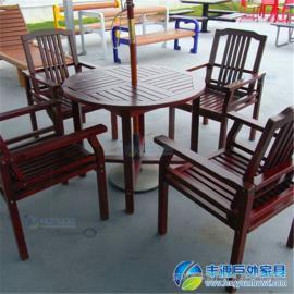 深圳市阳台实木休闲桌椅价格