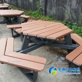 广州市户外桌椅套装图片