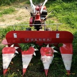 鲁辰小型手扶式割晒机厂家直销多功能小麦水稻收割机