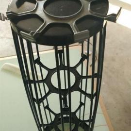 化工厂有机硅除尘器骨架133*2.5米碳钢不锈钢制作