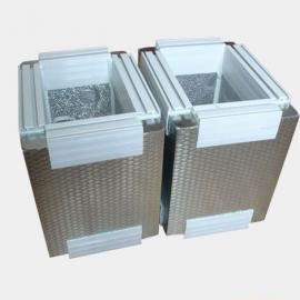 HH-TZA5压花镀锌钢板复合酚醛泡沫保温风管