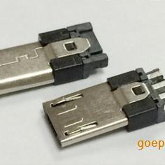 MICRO 5P公头单排超薄四五短路加长