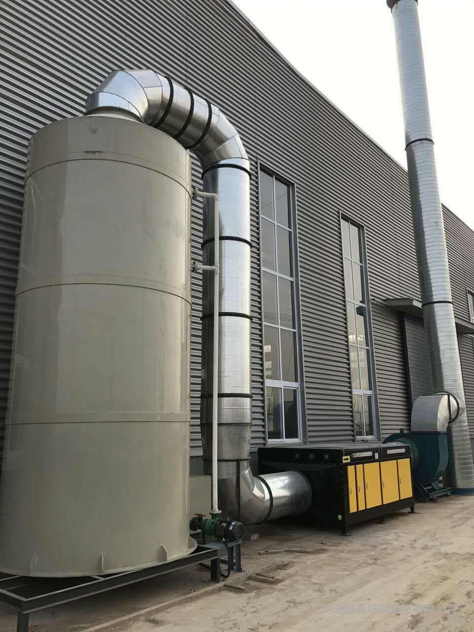 喷涂车间废气净化设备-UV光氧催化废气净化设备