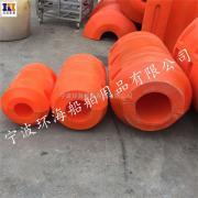 海上挖沙船浮筒滚塑加工塑料浮筒