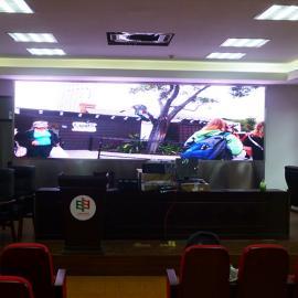 会议室直播用的LED大型大尺寸彩屏厂家直销定制