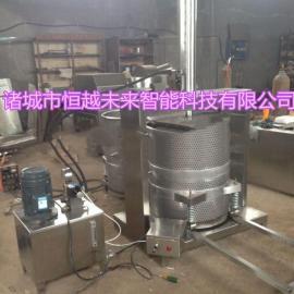 恒越未来HYWL-500L芥菜压榨机液压压榨机酱菜脱水机