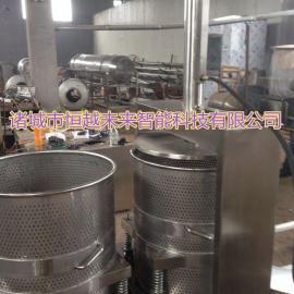 恒越未来HYWL-300L液压水果压榨机 冻梨液压压榨机
