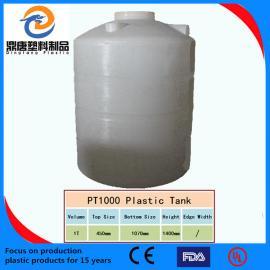 淮北市1吨塑料水塔塑料水箱厂家直销