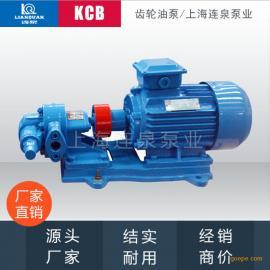 连泉齿轮油泵/润滑泵/柴油泵/高温油泵KCB18.3(口径20mm)
