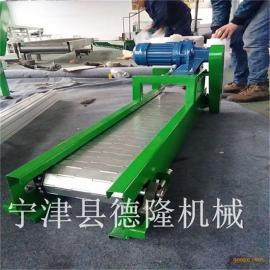 不锈钢链板输送机链板流水线链板传送带耐高温链板线非标定制
