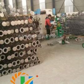 私人订制陶瓷厂不锈钢除尘骨架参数图