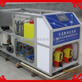 电解盐水制次氯酸钠消毒液发生器