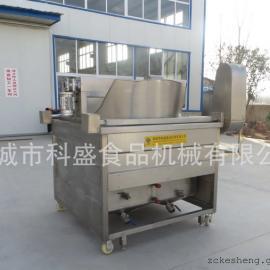 锅巴电加热油炸机 麻花油炸锅 全自动带搅拌自动进料出料