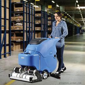 车间重油污地面用洗地机 依晨洗扫一体机YZ-XS650
