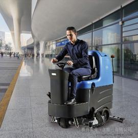 依晨洗扫一体机YZ-XS800|重油污地面用洗地机|洗地机