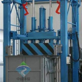 中成供应垃圾压缩站 垂直式垃圾设备 地埋式垃圾压缩机
