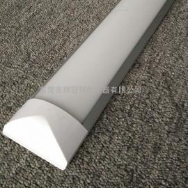 1.2米LED弧形平板灯/化妆品厂LED净化灯