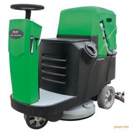 车间环氧地面用清洗机移动式电动洗地机大面积保洁用洗地机