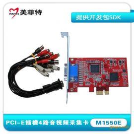 美菲特M1550EA4路音视频采集卡带SDK开发包