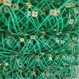 凯盾主动边坡防护网@绿色包塑主动边坡防护网