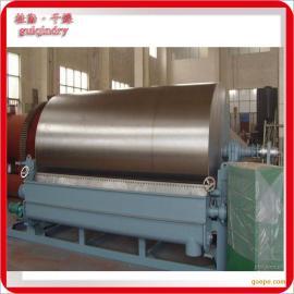 小米粉专用滚筒刮板干燥机 小米粉连续干燥设备