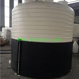 嘉兴20立方PE储存罐 20吨溶药储存罐