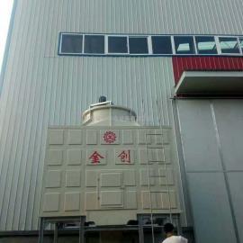 供应金创优质玻璃钢横流式方型冷却塔生产厂家