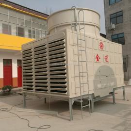 河南金创JCR超静音型玻璃钢横流式冷却塔生产厂家
