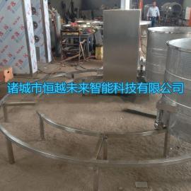 恒越未来HYWL-400L酱菜压榨机,桑葚果汁压榨收汁机,