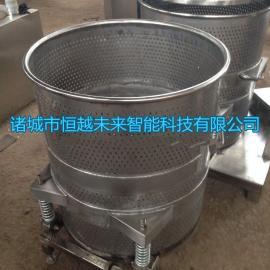 恒越未来HYWL-400L桑葚啤酒压迫收汁机,粉肠压迫机