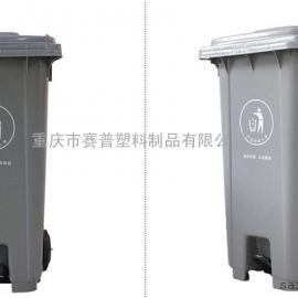 灰色垃圾桶,不可回收垃圾桶分类标识定做