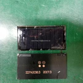 ZD74*38.3太阳能滴胶板,汽车胎压检测,太阳能电池板