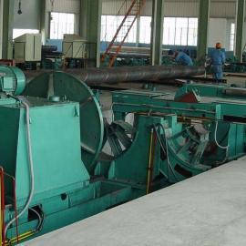 现货供应2540大口径钢管平头机