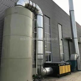 家具厂喷漆房VOCS有机废气处理设备