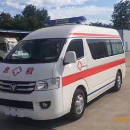 国五福田G7救护车加长版更宽敞
