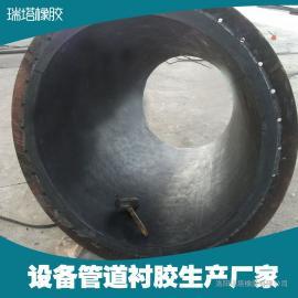 工业管道衬胶胶板生产