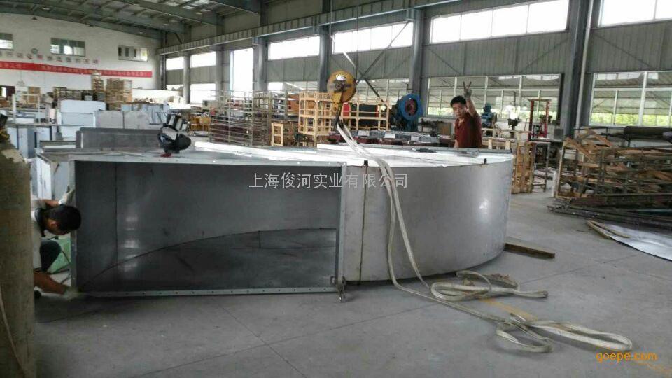 上海俊河品牌,不锈钢烟囱