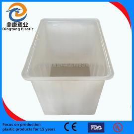 �o�a120L塑料周�D箱物流箱零件盒
