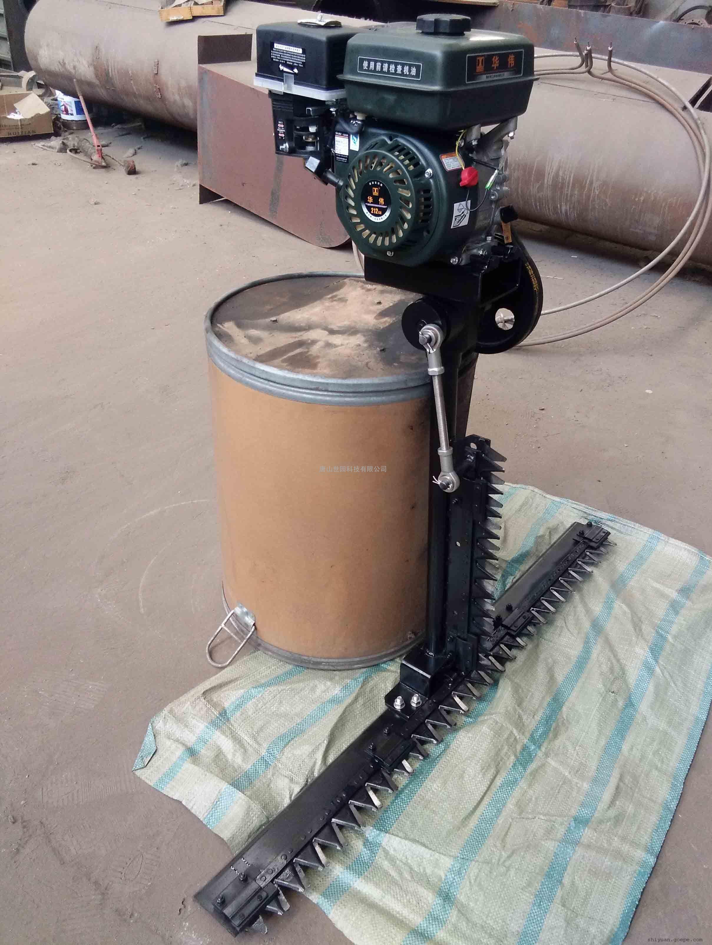 汽油机驱动重型双刀割芦苇机