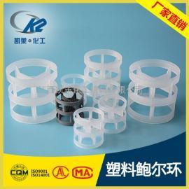 塑料鲍尔环 PP鲍尔环填料 全新材质优质品质 鲍尔环价格首选凯莱