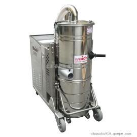 嘉兴金属制品厂用大型吸尘器五金加工厂用吸颗粒焊渣吸尘器