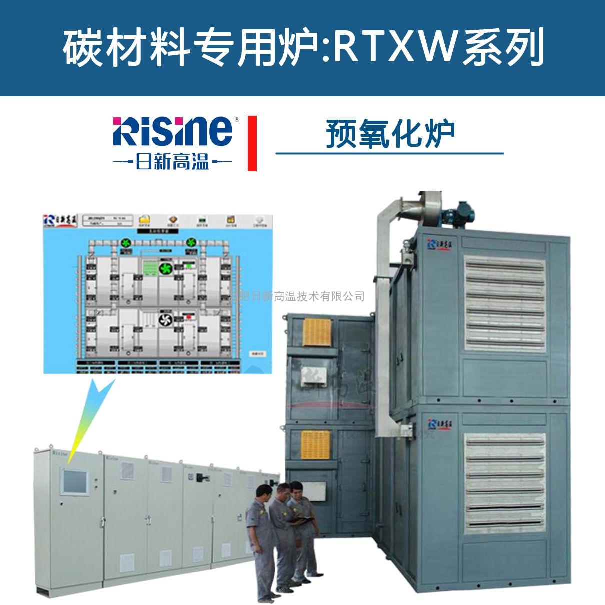 碳纤维生产设备 预氧化炉