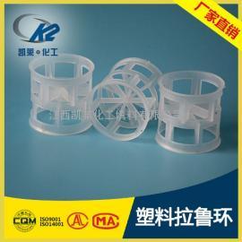 【用于分�x 吸收 �硫】塑料拉��h填料 DN25拉��h